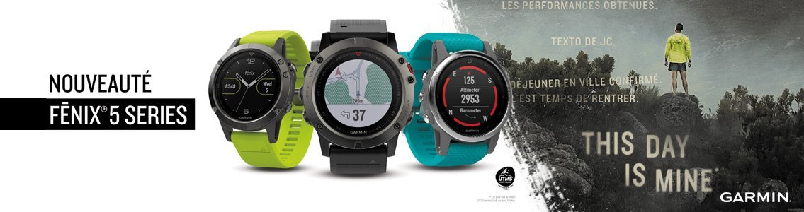 GARMIN Fenix 5 Series