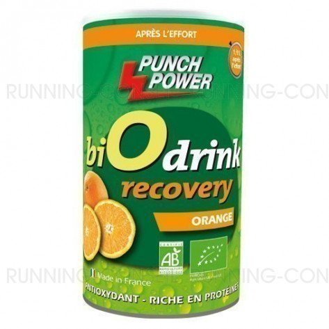 BiO drink  Recovery - Boisson de récupération à l'orange (Pot 400g)