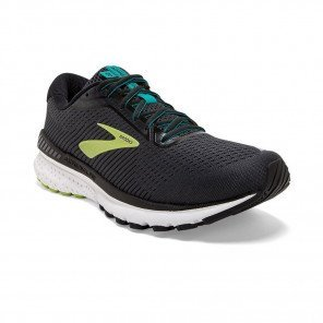 BROOKS ADRENALINE GTS 20 Homme | Black/Lime/Blue Grass