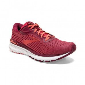 BROOKS ADRENALINE GTS 20 Femme | Rumba Red/Teaberry/Coral