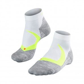 FALKE CHAUSSETTES RUNNING RU4 COOL SHORT HOMME | WHITE-LIGHTNING | Collection Printemps-Été 2019