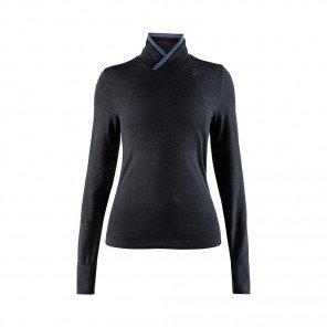 CRAFT Maillot Manches Longues Fuseknit Comfort Wrap Femme | Noir