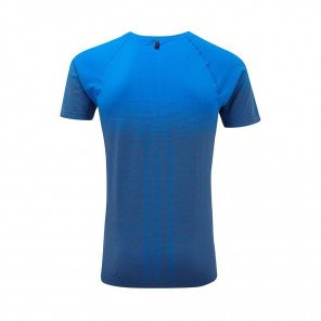 RONHILL T-SHIRT MANCHE COURTE MARATHON INFINITY Homme | ELECTRIC BLUE/GREY MARL